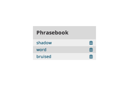 Lvlapp about phrasebook